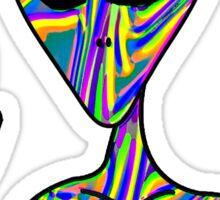 Trippy Alien 3 Sticker