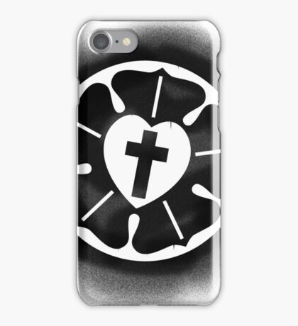 Luther Rose Stencil iPhone Case/Skin
