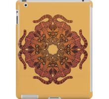 Manigordo Mandala (Ocelot): Warm Colors iPad Case/Skin