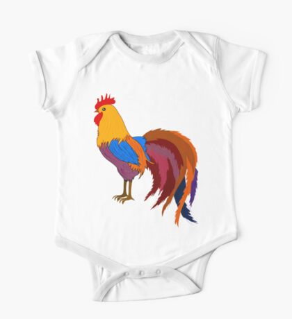 Rooster 578 One Piece - Short Sleeve