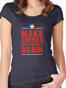 Make America Deplorable Again Women's Fitted Scoop T-Shirt