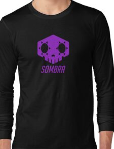 Sombra Skull Long Sleeve T-Shirt