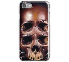 4 eyed skull iPhone Case/Skin