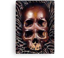 4 eyed skull Canvas Print