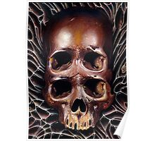 4 eyed skull Poster