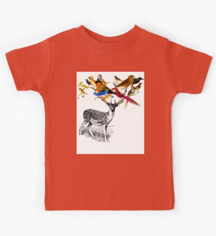 DEER BIRDY Kids Tee