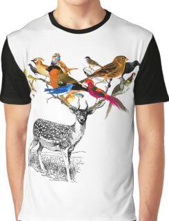 DEER BIRDY Graphic T-Shirt