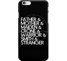 May the Seven Watch Over You iPhone Case/Skin