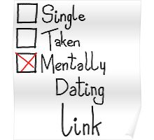 Mentally Dating Link Poster