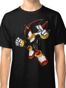 Neon Shadow The Hedgehog Classic T-Shirt