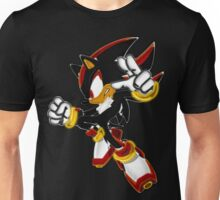 Neon Shadow The Hedgehog Unisex T-Shirt
