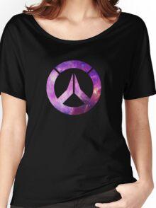 Overwatch Logo - Galaxy Women's Relaxed Fit T-Shirt