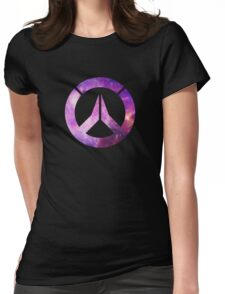 Overwatch Logo - Galaxy Womens Fitted T-Shirt