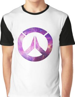Overwatch Logo - Galaxy Graphic T-Shirt