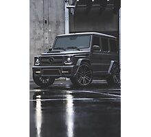 Mercedes G-Class grey Photographic Print
