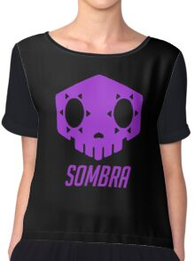 Sombra Skull Chiffon Top