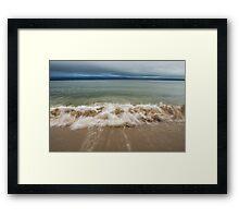 Queenslands beach, Nova Scotia Framed Print