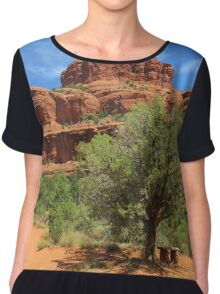 Bell Rock - Arizona Chiffon Top
