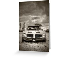 Rollin' Thunder Greeting Card