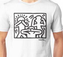 Keith Haring No Evil B&W Unisex T-Shirt
