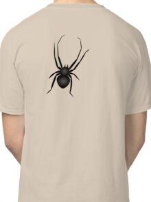 Nasty Black Huge Spider Classic T-Shirt