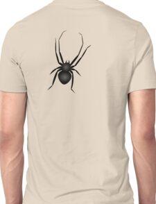 Nasty Black Huge Spider Unisex T-Shirt