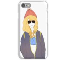 Casual Girl iPhone Case/Skin