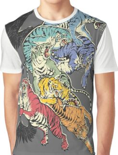 Seven Caged Tigers Graphic T-Shirt