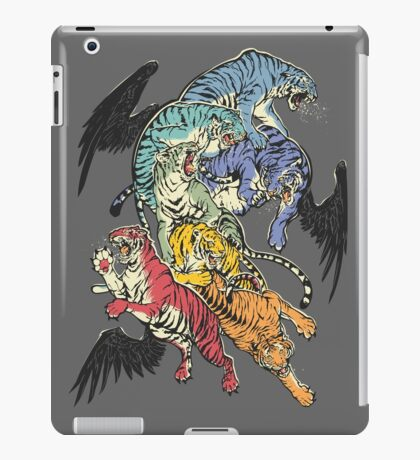 Seven Caged Tigers iPad Case/Skin