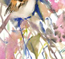 The Sparrow in the Garden Sticker
