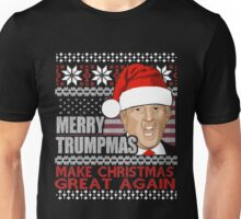 Merry Trumpmas Make Christmas Great Again Unisex T-Shirt