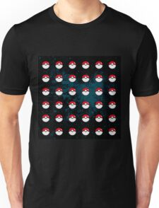 Pokeball Pattern Unisex T-Shirt