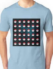 Pokeball Pattern Unisex T-Shirt