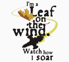 Leaf on the wind Baby Tee