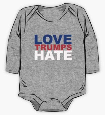 Love Trumps Hate One Piece - Long Sleeve