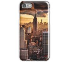 New York cloudy iPhone Case/Skin