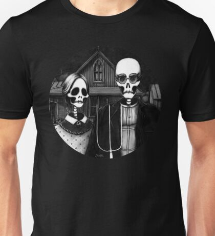 Skeleton (Even More) Gothic Unisex T-Shirt