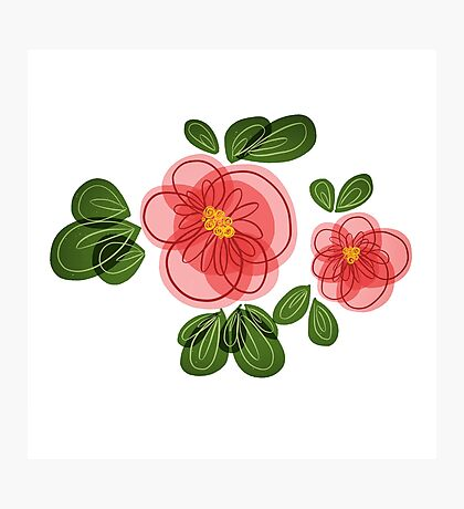 Moana Flower Photographic Print