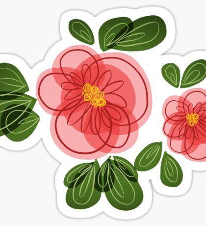 Moana Flower Sticker