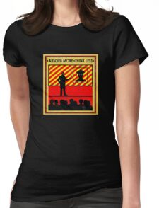 """""""College Propaganda 1""""  Womens Fitted T-Shirt"""