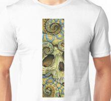 blue ring skull Unisex T-Shirt
