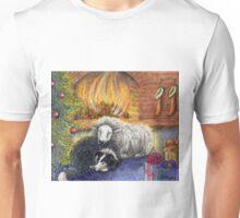 Sheepdog and Ewe 'Merry Christmas to Ewe' Unisex T-Shirt