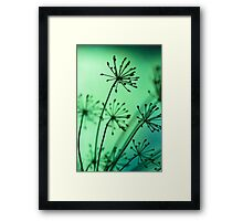 firing neurons Framed Print