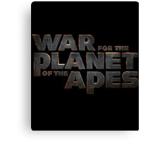 war of the planet of the apes 4 Canvas Print