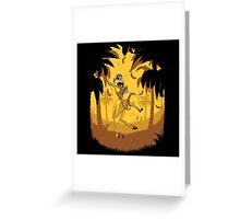 Banana Lover Minion Greeting Card