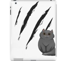 Cat Scratch iPad Case/Skin