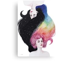 two girl Canvas Print