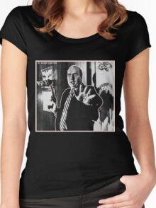 R. BUDD DWYER 666 Women's Fitted Scoop T-Shirt