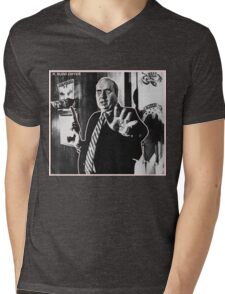 R. BUDD DWYER 666 Mens V-Neck T-Shirt