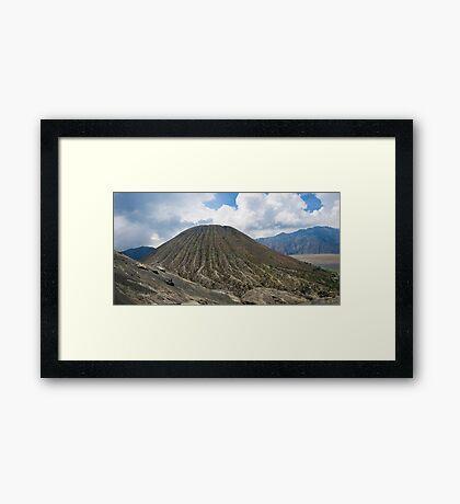 Volcano Bromo Framed Print